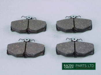 TVR J0104 DS2500 - Brake pads