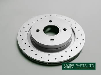 TVR J0136 RG - Brake disc, upgraded