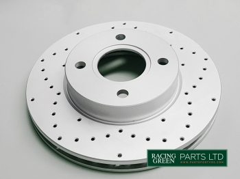 TVR J0146 RG - Brake disc front pair upgraded
