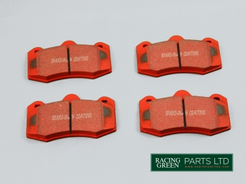 TVR J0464 EBC - Brake pads EBC Red Stuff