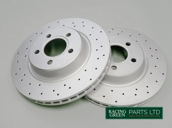 TVR J0759 PR - Brake disc 322mm pair