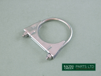 TVR S0145 - Exhaust clamp 76mm Y piece rear