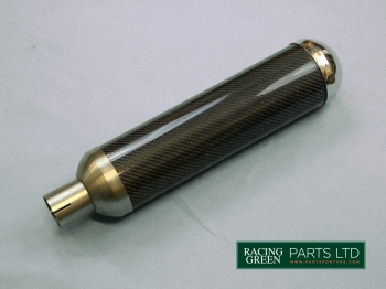 TVR S0376 - Exhaust silencer