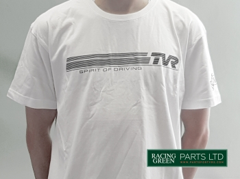 TVR TSH 3 L - T-Shirt, White - Spirit of Driving