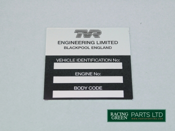 TVR U0317 - Chassis plate