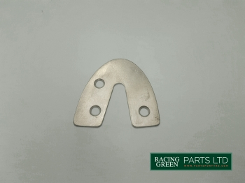 TVR U1003 - Door catch plate stainless lefthand side