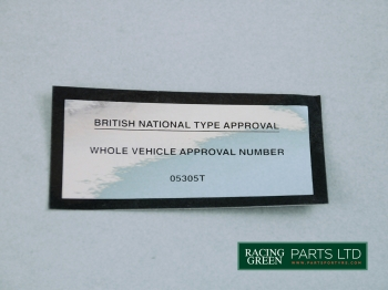 TVR V0532 - Decal
